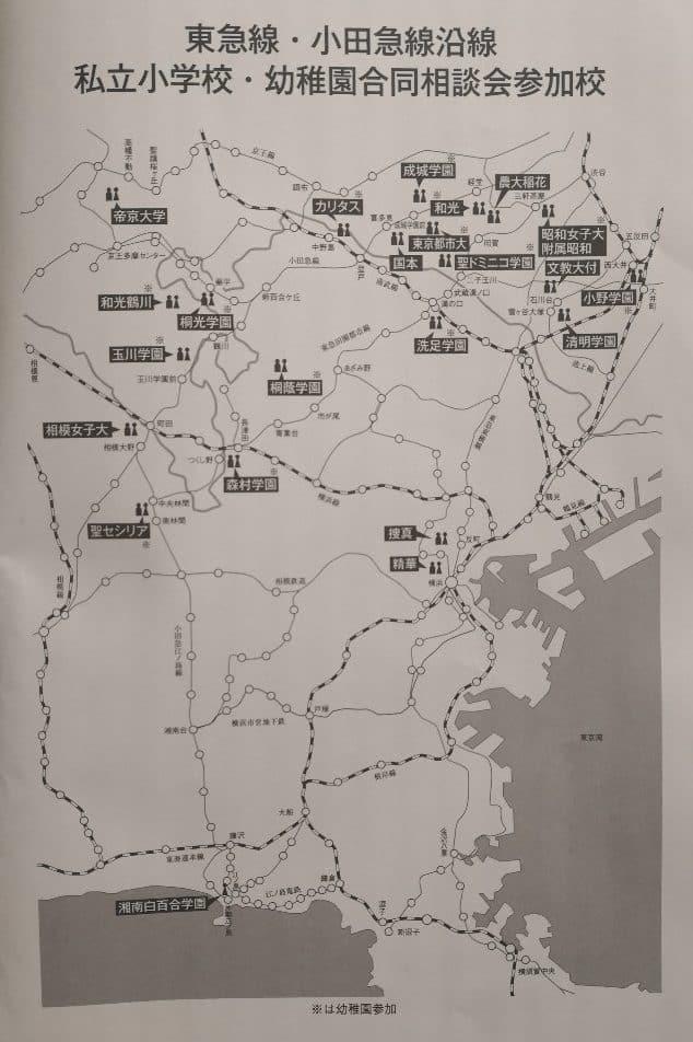 1/20私立小学校説明会参加校