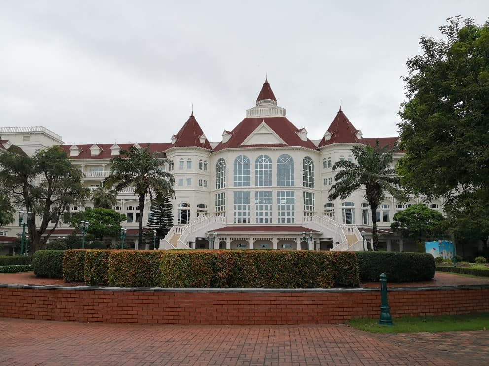 香港ディズニーランドホテル海側