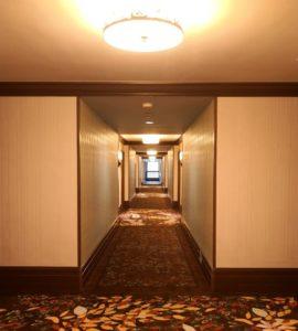 エクスプローラーズ・ロッジ廊下