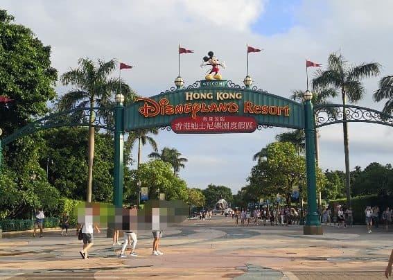 香港ディズニー入口
