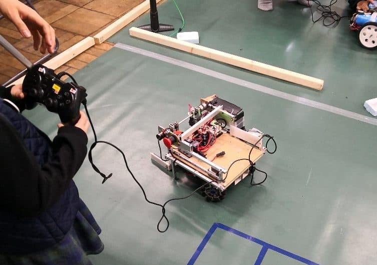 ロボット操縦体験