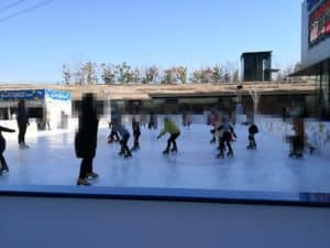 渡辺絵美 スケート教室2