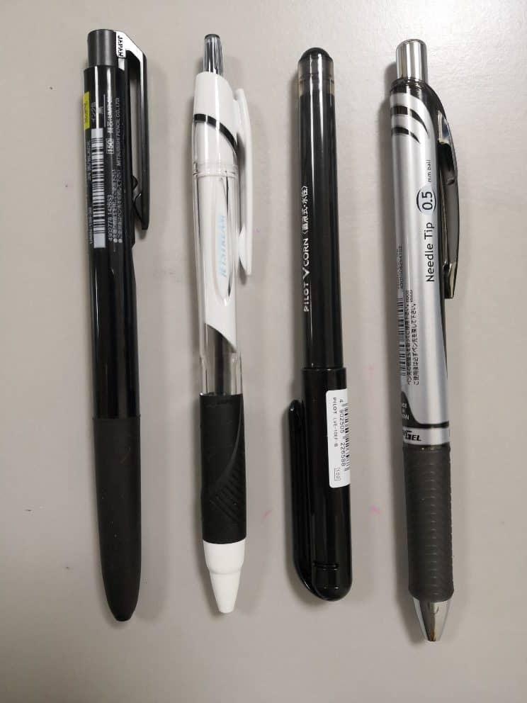 小学校受験 願書ボールペン 比較